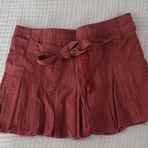 American Eagle Corduroy Mini Skirt